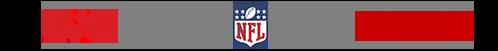 Logos: USA, NFL, ESPN